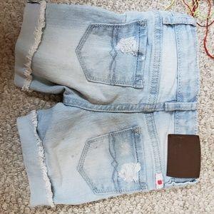 Girl's Lucky Brand Denim Jean Shorts